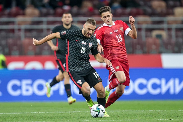 Захарян – самый молодой полевой футболист в истории сборной России. И уже так хорош!