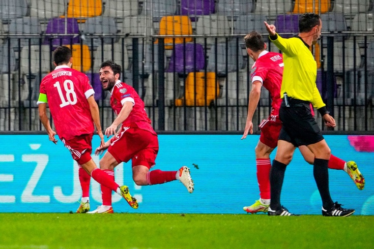 Джикия — король! Забил чудо-гол в важнейшем матче сборной России