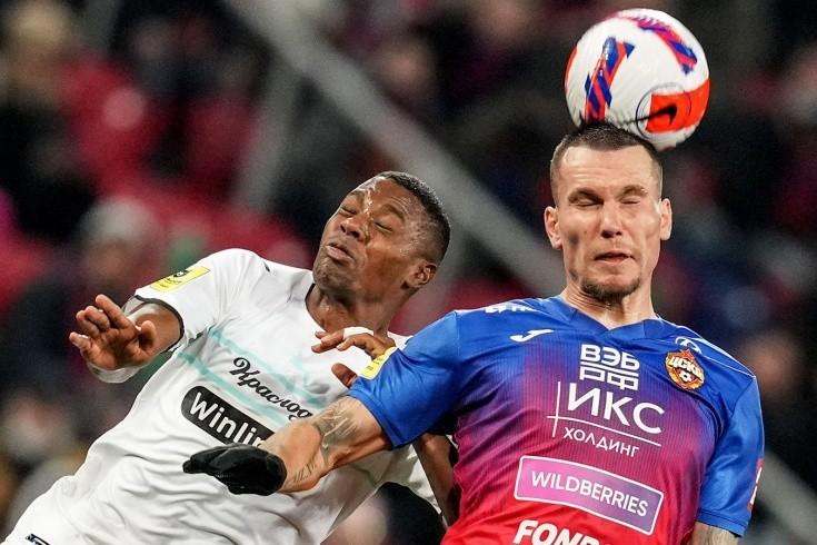 Поразительный матч между ЦСКА и «Краснодаром»! 49 ударов на двоих — и ноль голов