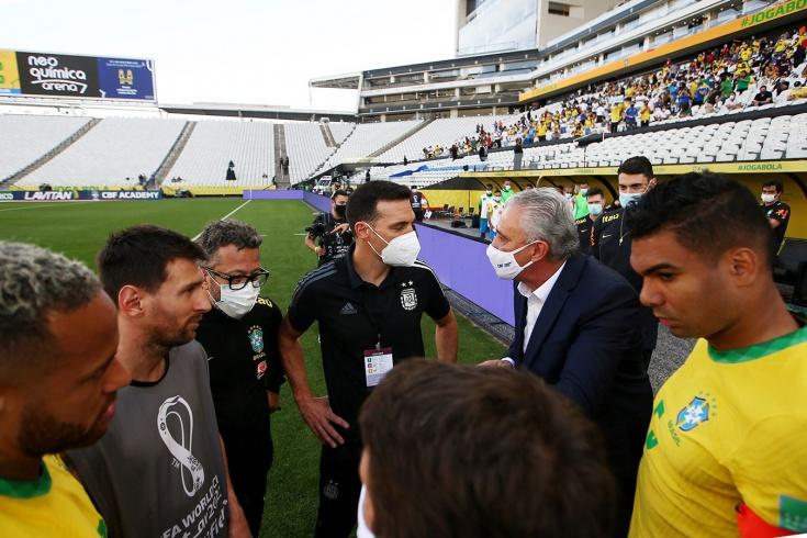 «Позор, фарс, скандалище». Аргентинцы винят во всём бразильцев